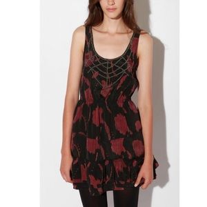 Urban Outfitters Ecote Beaded Tapestry Dress